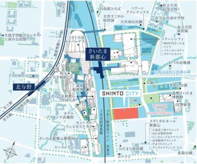"""2012年から連続80%越えの支持を得ている""""住みやすい街・さいたま市""""、 計6社が携わる大規模プロジェクト""""SHINTO CITY""""が始動"""