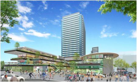 """[エリア開発]JR三島駅前再開発、""""健幸""""都市の実現を目指し自然環境や地域資源を活用した賑わい創出を目指す"""