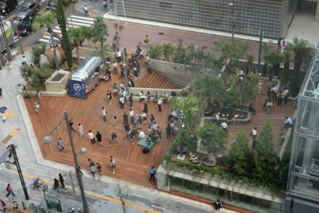 Ginza Sony Parkは都心における公園の新しいヒント