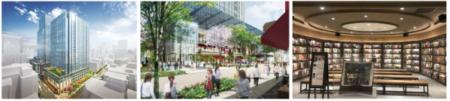 """[エリア開発]建物の名称が""""日本橋室町三井タワー""""に決定。""""COREDO室町テラス""""が2019年秋グランドオープン!大屋根賑わい広場も"""