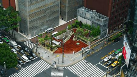 [エリアその他]銀座に開園した変わり続ける公園 Ginza Sony Parkの来園者数が100万人を突破