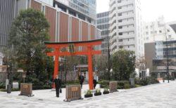 日本橋福徳の森広場はイベントスペースでありながら、ひとが集うまちのよりどころに