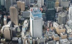 [エリア開発]東京ワールドゲート『神谷町トラストタワー』上棟(2020年3月竣工予定)