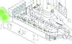 ティップネスが(株)グランドレベルと提携し、新規事業をスタート。ティップネス宮崎台1Fに まちの家事室つき喫茶店『喫茶ランドリー』 が登場!
