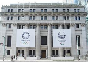 東京2020大会期待の26名のアスリートと観客のグラフィックで街を装飾する「日本橋シティドレッシング for TOKYO 2020」 東京2020オリンピック開催1年前の7月23日(火)からスタート