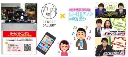 「丸の内ストリートギャラリー」にてスマホ向け音声ガイダンスを開始 ~「オールナイトニッポン」パーソナリティ3組がアート作品をご紹介~