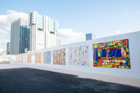 仮囲いアートプロジェクトで、まちの新しい価値創出を目指す「ヘラルボニー」