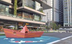 東京駅近くに大規模広場が出現!?TOKYO TORCH Park(トウキョウトーチパーク)がオープンしました!